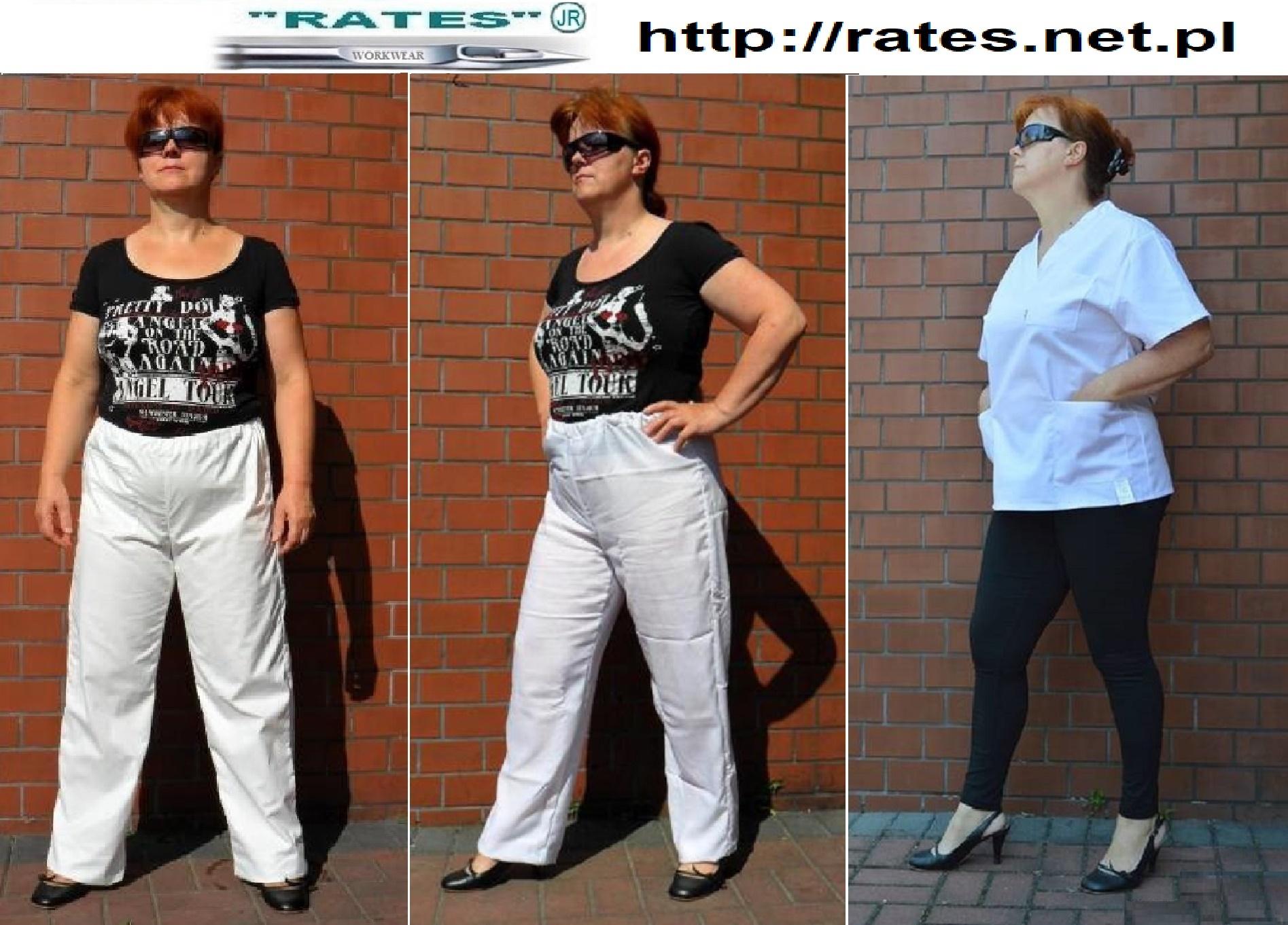 Spodnie piekarskie producent