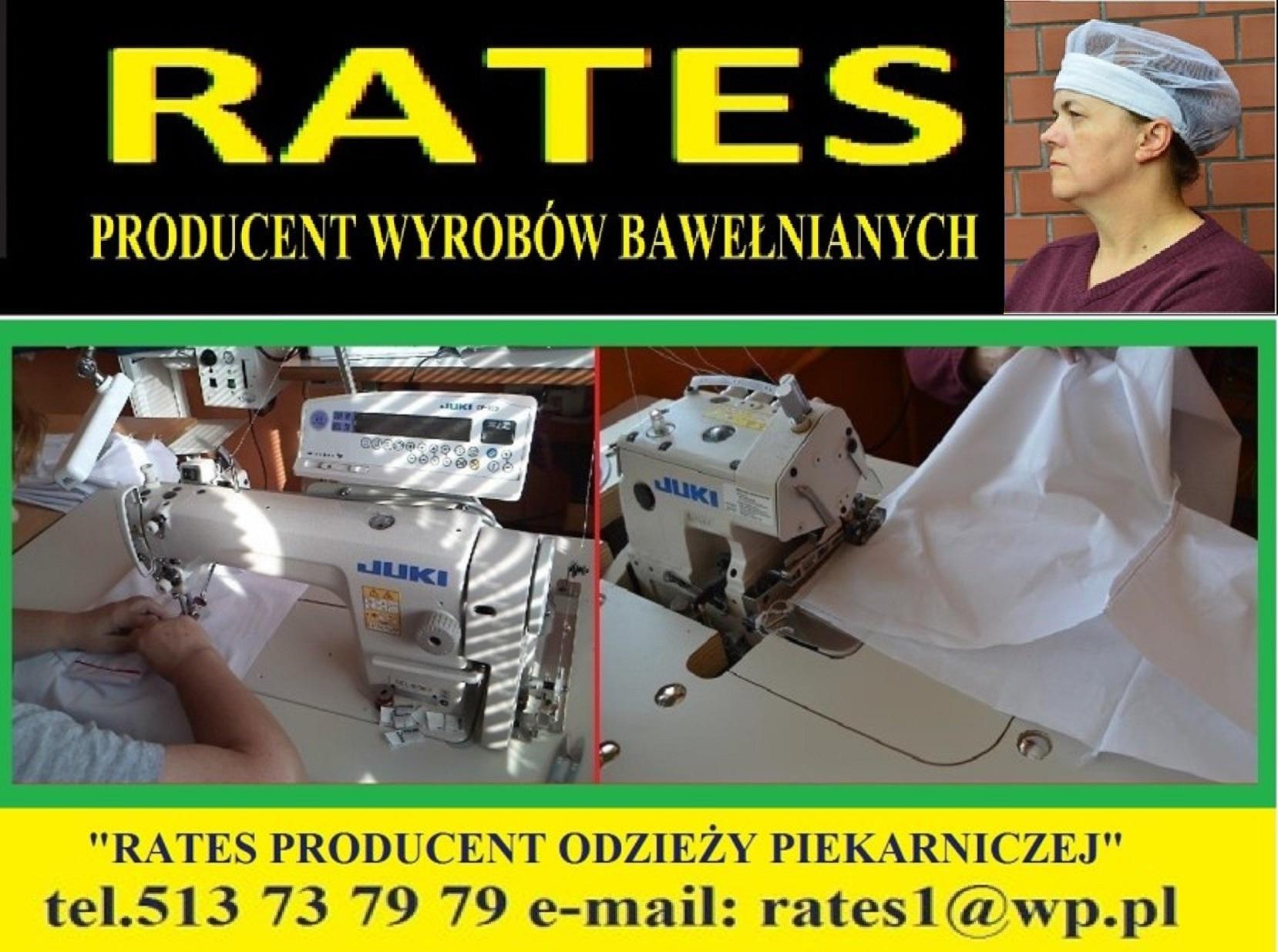 producent ubrań piekarniczych